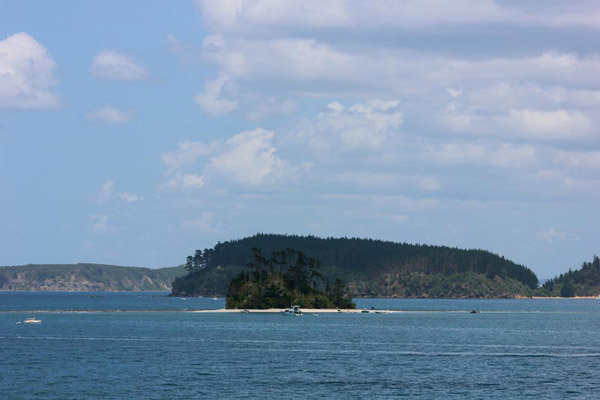 Fishing charters from Mangawhai, Northland (north of Auckland) - Kawau and Little Barrier islands offer great fishing for snapper and kingfish and are best for experienced fishermen