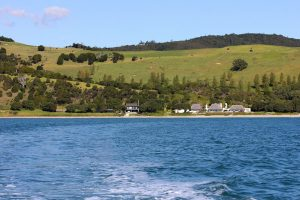 Anderson's Cove, a sheltered cove and private beach just north of Mangawhai