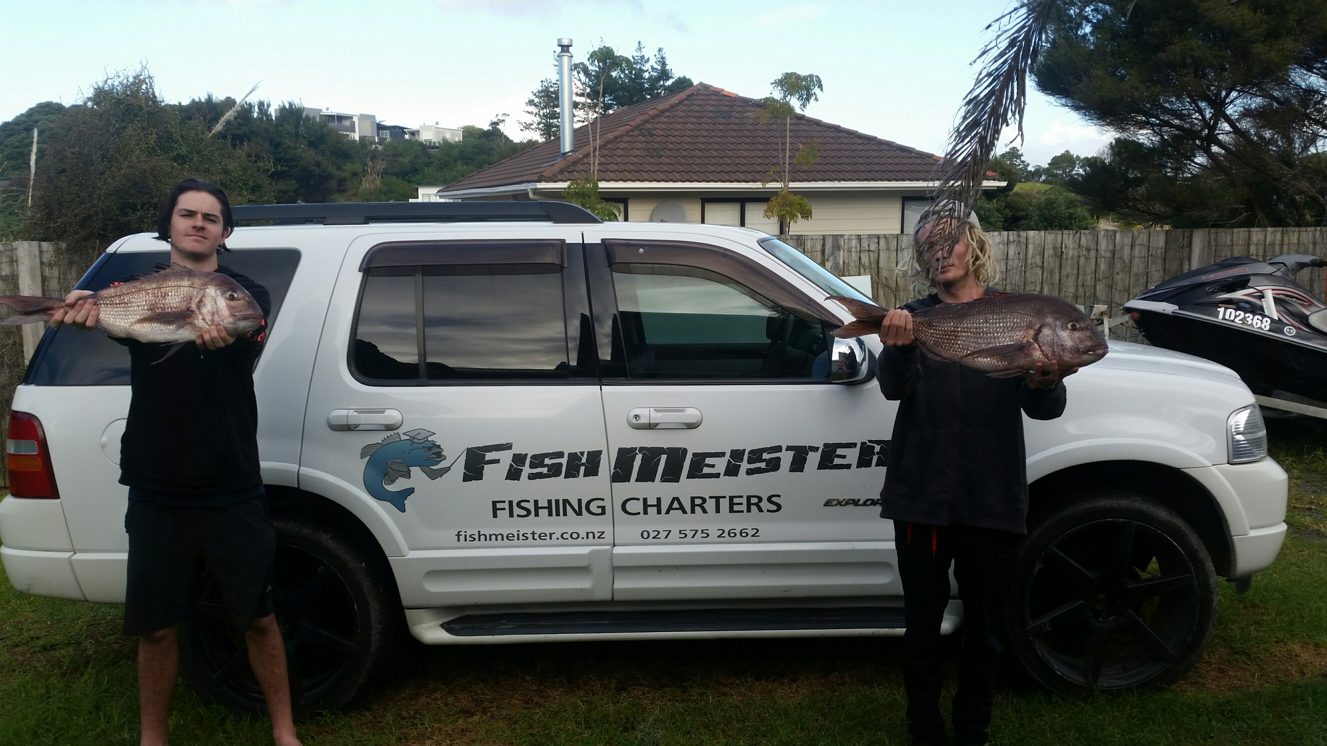 Big fish caught on Fishmeister fishing charters