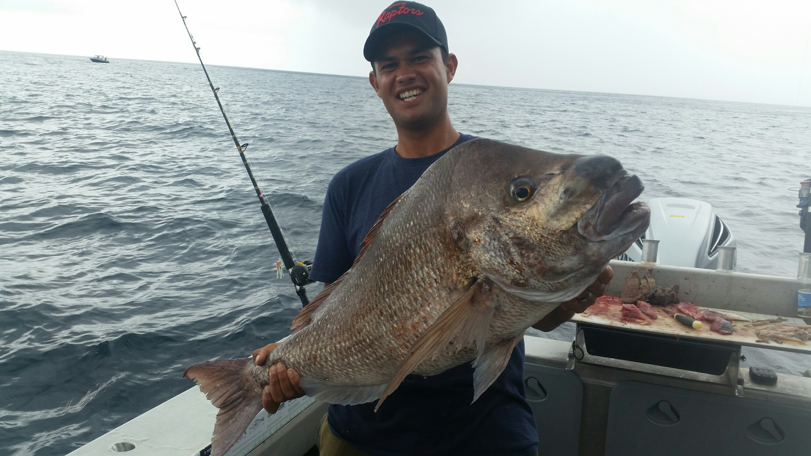 Brooke's 26lb snapper
