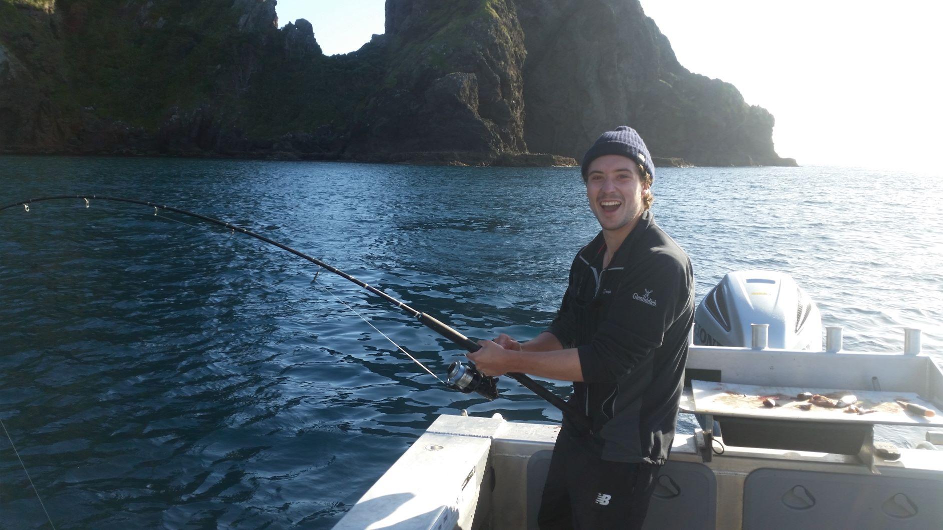 Fish on!